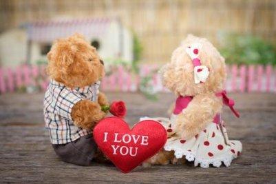 恋愛 ぬいぐるみ LOVE