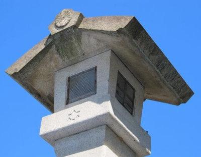 伊勢神宮の石燈篭
