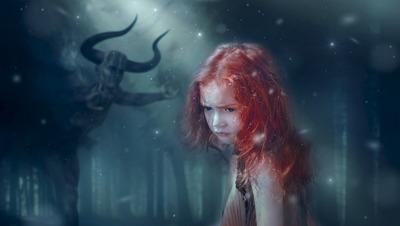 女の子 悪魔