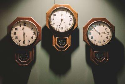 タイミング 時間 時計