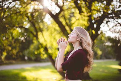 祈り 自然