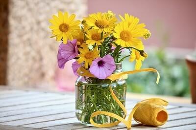 マーガレット 花束