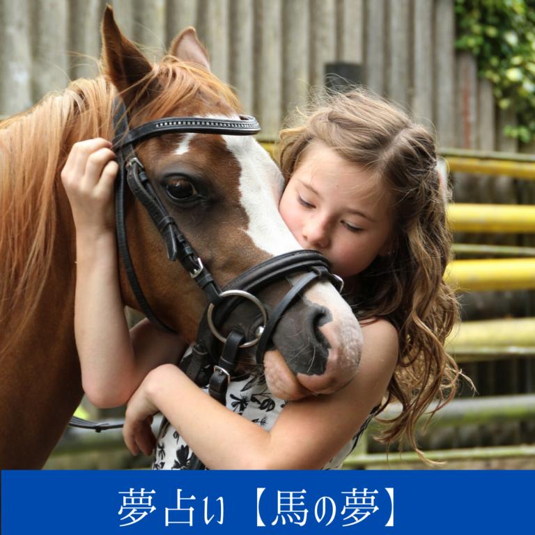 馬の夢【夢占い一覧表】基本吉夢で運ばれてくる運気に関係
