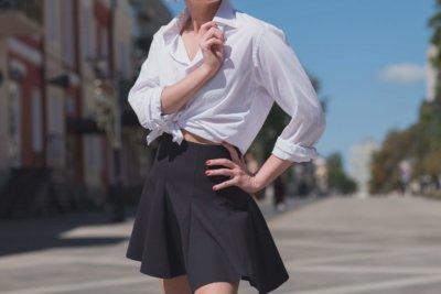 1.スカートスタイル