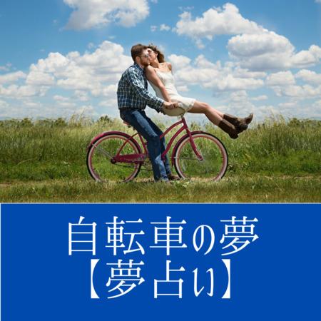 自転車の意味:目標達成のために必死に周辺と調和をはかることのあらわれ